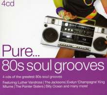 Pure...'80s Soul Grooves, 4 CDs