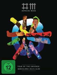 Depeche Mode: Tour Of The Universe: Barcelona 20/21.11.09 (2 DVD + 2CD), 2 DVDs