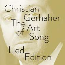 Christian Gerhaher - The Art of Song (Lied-Edition), 13 CDs