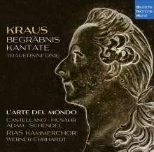 Josef Martin Kraus (1756-1792): Begräbniskantate für König Gustav III, CD