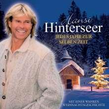 Hansi Hinterseer: Jedes Jahr zur selben Zeit, CD