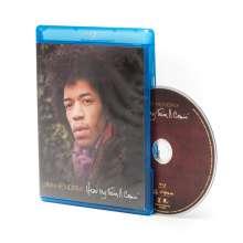 Jimi Hendrix: Hear My Train A Comin', Blu-ray Disc