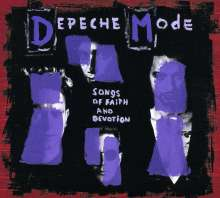 Depeche Mode: Songs Of Faith And Devotion (CD + DVD-Audio & Video), 2 CDs