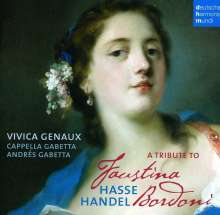 Vivica Genaux - A Tribute to Faustina Bordoni, CD