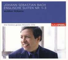 Johann Sebastian Bach (1685-1750): Englische Suiten BWV 806-808, CD