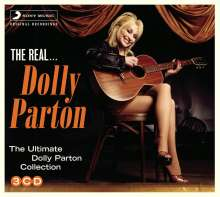 Dolly Parton: The Real Dolly Parton, 3 CDs