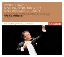 Joseph Haydn (1732-1809): Symphonien Nr.100 & 104, CD