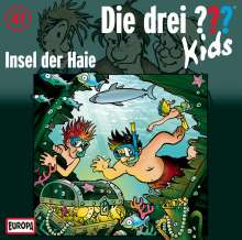 Die Drei ??? Kids 41: Insel der Haie, CD