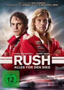 Rush (2013), DVD