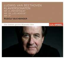 Ludwig van Beethoven (1770-1827): Klaviersonaten Nr.8,26,31, CD