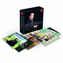 Richard Strauss (1864-1949): Fritz Reiner conducts Richard Strauss - The Complete RCA and Columbia Recordings, 11 CDs