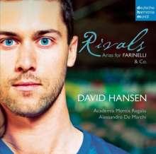 David Hansen - Rivals, Arien für Farinelli & Co, CD