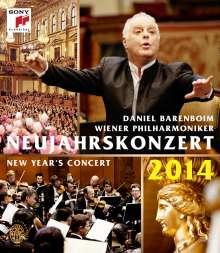 Neujahrskonzert 2014 der Wiener Philharmoniker, Blu-ray Disc