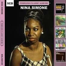 Nina Simone (1933-2003): Timeless Classic Albums, 5 CDs