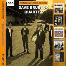 Dave Brubeck (1920-2012): Timeless Classic Albums, 5 CDs