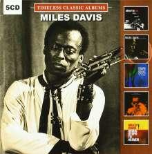 Miles Davis (1926-1991): Timeless Classic Albums Vol.2, 5 CDs