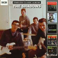 The Shadows: Timeless Classic Albums, 5 CDs