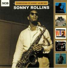 Sonny Rollins (geb. 1930): Timeless Classic Albums, 5 CDs