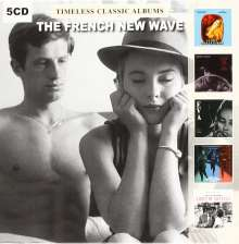 Filmmusik: Timeless Classic Albums: French New Wave, 5 CDs