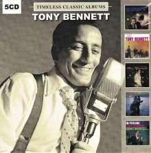 Tony Bennett (geb. 1926): Timeless Classic Albums, 5 CDs