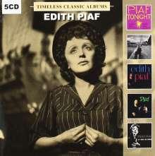 Edith Piaf (1915-1963): Timeless Classic Albums, 5 CDs