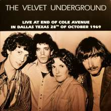 The Velvet Underground: Live At End Of Cole Avenue In Dallas,Texas, 28th Of October 1969 (Limited-Edition) (Clear Blue Vinyl - Yellow Lettering), LP