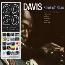 Miles Davis (1926-1991): Kind Of Blue (180g) (Limited Edition) (Blue Vinyl), LP