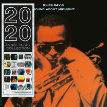 Miles Davis (1926-1991): Round About Midnight (180g) (Limited Edition) (Blue Vinyl), LP
