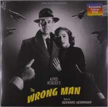 Bernard Herrmann (1911-1975): Filmmusik: The Wrong Man (O.S.T.) (180g) (Colored Vinyl), LP
