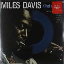 Miles Davis (1926-1991): Kind Of Blue (180g) (Limited-Edition) (Blue Vinyl) (mono), LP