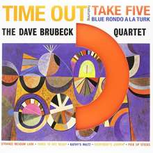 Dave Brubeck (1920-2012): Time Out (180g) (Limited-Edition) (Colored Vinyl), LP
