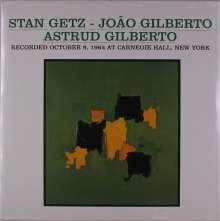 Stan Getz & João Gilberto: Recorded October 9, 1964 At Carnegie Hall, New York, LP