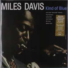 Miles Davis (1926-1991): Kind Of Blue (180g) (Deluxe-Edition), LP