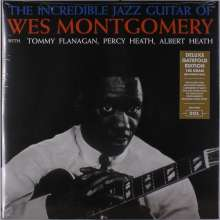 Wes Montgomery (1925-1968): The Incredible Jazz Guitar Of Wes Montgomery (180g) (Deluxe-Edition), LP