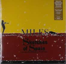 Miles Davis (1926-1991): Sketches Of Spain (180g) (Deluxe-Edition), LP