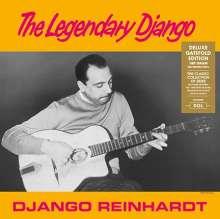 Django Reinhardt (1910-1953): The Legendary Django (180g) (Deluxe-Edition), LP