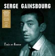 Serge Gainsbourg: Trois Et Quatre (180g) (Deluxe-Edition), LP