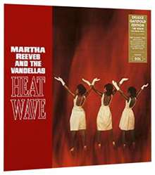 Martha Reeves: Heat Wave (180g) (Deluxe-Edition), LP