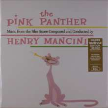 Henry Mancini (1924-1994): Filmmusik: The Pink Panther (180g) (Deluxe-Edition), LP