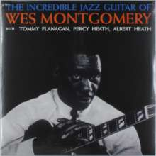 Wes Montgomery (1925-1968): The Incredible Jazz Guitar Of Wes Montgomery (140g), LP