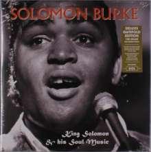 Solomon Burke: King Solomon & His Soul Music (180g) (Deluxe-Edition), LP