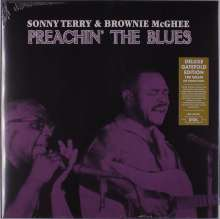 Sonny Terry & Brownie McGhee: Preachin' The Blues (180g) (Limited-Deluxe-Edition), LP