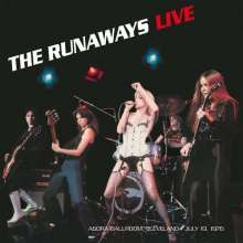 The Runaways: Live At Agorà Ballroom, Cleveland - July 19,1976, LP