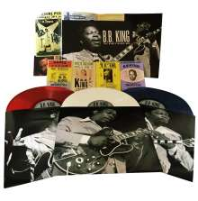 B.B. King: The King's Blues Box (Limited-Edition) (Red, White & Blue Vinyl), 3 LPs