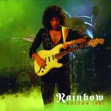 Rainbow: Boston 1981 (Limited-Edition) (Red Vinyl), 2 LPs
