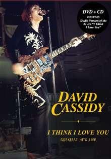 David Cassidy: I Think I Love You: Greatest Hits Live 2002, 1 DVD und 1 CD
