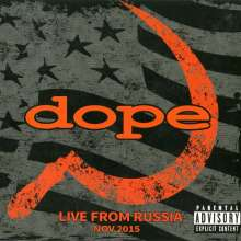 Dope: Live From Russia 2015, CD