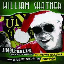 William Shatner: Jingle Bells (Limited-Edition) (Green Vinyl), Single 7""