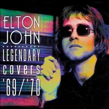 Elton John: Legendary Covers '69 / '70 (Limited-Edition) (Rainbow Splatter Vinyl), LP