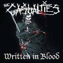 The Casualties: Written In Blood, CD